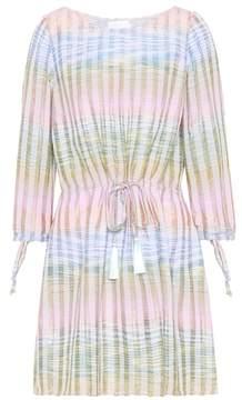 Athena Procopiou Cosmic Dancer cotton-blend dress