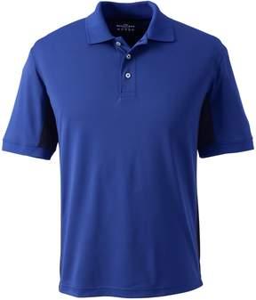 Lands' End Lands'end Men's Side Colorblock Active Polo Shirt