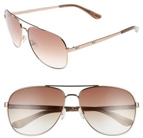 Juicy Couture Women's Black Label 59Mm Aviator Sunglasses - Brown