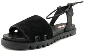 Hunter Sandal Slide Women Open-toe Leather Sport Sandal.