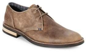 Original Penguin Textured Lace-Up Oxfords