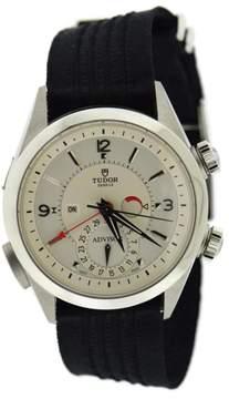 Tudor Heritage Advisor Alarm 79620T Titanium/Stainless Steel Automatic 42mm Mens Watch