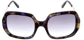Etro Oversize Tinted Sunglasses