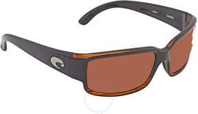 Costa del Mar Caballito Copper 580P Polarized Wrap Sunglasses CL 52 OCP
