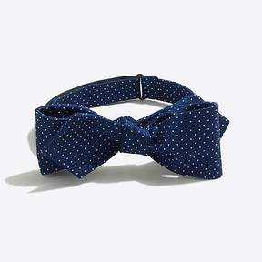 J.Crew Mercantile Silk dot bow tie