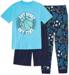 Arizona 3-pc. Pajama Set Boys-Husky