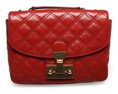 Marc Jacobs Women's ¿mini Polly¿ Top Handle Shoulder Leather Handbag Red. - RED - STYLE