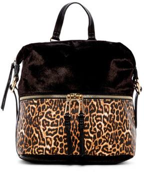 Jessica Simpson Karalia Faux Animal Hair Backpack
