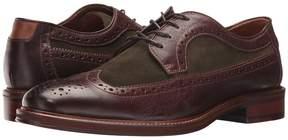 Johnston & Murphy Warner Wingtip Men's Lace Up Wing Tip Shoes