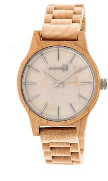 Earth Wood Tuckahoe Unisex Brown Bracelet Watch-Ethew4801