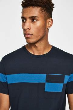 Jack Wills Southway Placed Stripe T-Shirt
