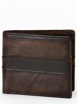 Frye Men's 'Oliver' Leather Billfold Wallet - Beige