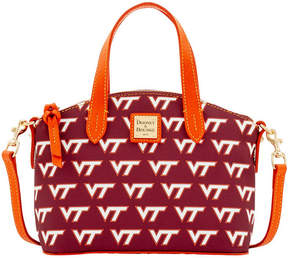 Dooney & Bourke Virginia Tech Hokies Ruby Mini Satchel Crossbody - MAROON - STYLE