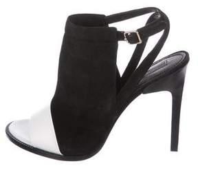 Rachel Zoe Lacey Suede Sandals