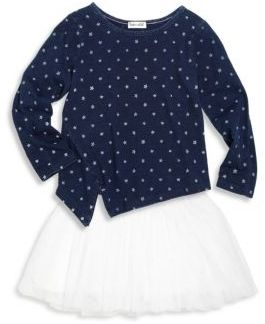 Splendid Toddlers and Little Girls Two-Piece Top and Skirt Set
