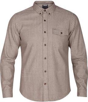 Hurley Men's Flores Foulard Button-Down Shirt