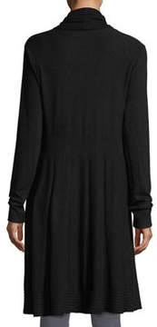 Neiman Marcus Long Soft-Knit Duster Cardigan