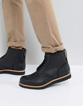 Grenson Dawson Pebble Grain Lace Up Boots
