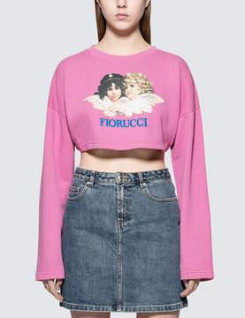 Fiorucci Super Cropped Sweatshirt