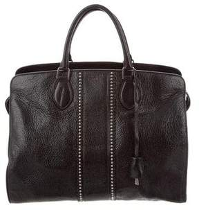 Rochas Leather Studded Tote