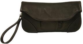 Women's Piel Leather Clutch/Large Wristlet 2885