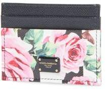 Dolce & Gabbana Rose Print Card Case - ROSE-LINE - STYLE