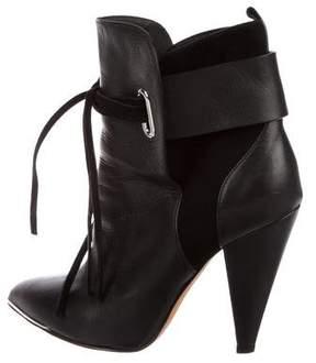 IRO Xavia Leather Ankle Boots