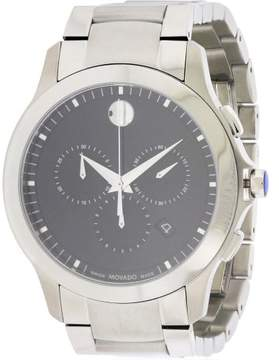 Movado Masino Stainless Steel Chronograph Men's Watch, 0607037