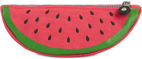 Kipling Fruit Charm Pencil Case - HONEYDEW/SILVER - STYLE