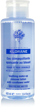 Klorane Soothing Makeup Remover With Cornflower, 400ml - Colorless