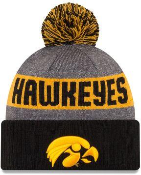 New Era Adult Iowa Hawkeyes Sport Knit Beanie