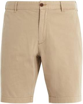 Faherty Mid-rise straight-leg stretch-cotton shorts