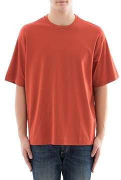 Diesel Black Gold Men's Orange Cotton T-shirt.
