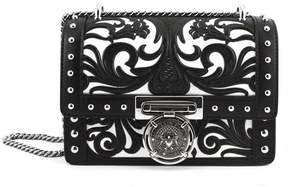 Balmain Black Calfskin Bbox 20 Bag