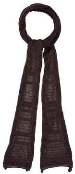 Maje Metallic Fine Knit Scarf