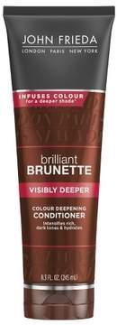John Frieda Brilliant Brunette Visibly Deeper Conditioner - 8.3oz