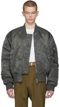 Acne Studios Blue Makio Bomber Jacket