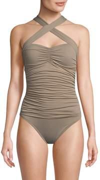 LaBlanca La Blanca Women's Island Convert One Piece Swimsuit