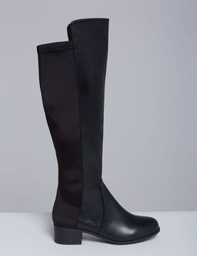 Lane Bryant Faux Leather To-the-Knee Boot