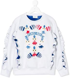 Fendi Kids Go sweatshirt
