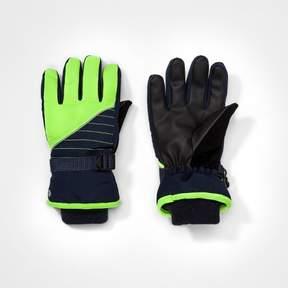 Champion Boys' Colorblock Gloves Navy/Green