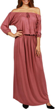 24/7 Comfort Apparel Monaco Maxi Dress