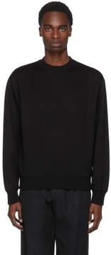 Prada Black Jersey Tech Sweatshirt