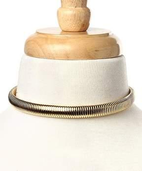 Amrita Singh Goldtone Omega Choker Necklace
