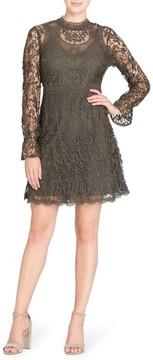 Catherine Malandrino Women's Miia Lace Fit & Flare Dress
