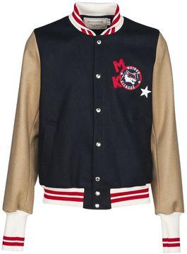 Kitsune Maison Logo Varsity Jacket