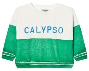 Bobo Choses Green Calypso Boat Sweatshirt