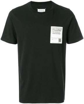 Maison Margiela Stereotype patch T-shirt