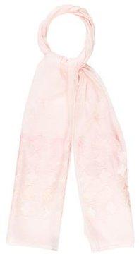 Louis Vuitton Ombré Monogram Fleur Silk Stole