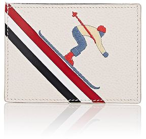 Thom Browne Men's Embroidered Card Case